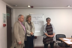 LAP AGM 2016 with Ruth Cadbury MP and Julie Ward MEP