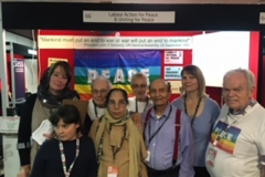 Labour Party Conference 2017. LAP volunteers
